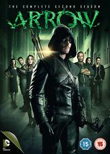 Arrow - Season 2 [2013] (DVD) Stephen Amell, Katie Cassidy, Paul Blackthorne