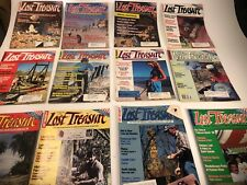 1989 Complete Year Lost Treasure Magazine Metal Detecting Coins Gold