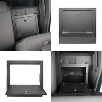 FIT 2005-2015 TOYOTO TACOMA INNER REAR SEAT SECURITY STORAGE BOX STEEL GUARD