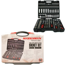 171PC SOCKET SET WRENCH BIT SET TOOL KIT SPANNER MECHANIC CARRY CASE RATCHET SET