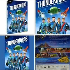 Thunderbirds Are Go Volume 1 dvd 13 Episodes Of The Itv Series Complete Box Set