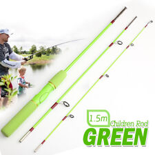 Children's Fishing Spinning Telescopic Rod Ultra Light Glass Fiber Gun Handle