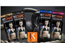 KT Tape Original Cotton Kinesiology  Tape -Twin Pack Precut Strips Cross Fitness