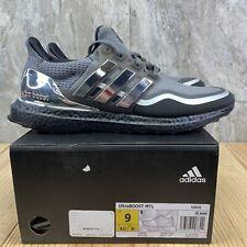 Adidas Ultraboost Medal Grey Silver Metallic Black Size 9 Mens Black Gold Shoes