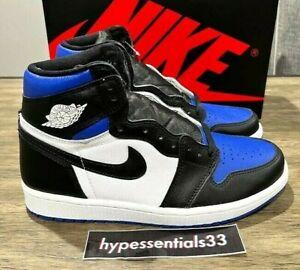 Nike Air Jordan 1 Retro Royal Toe Men 555088-041 Sizes 8-13 NEW DS. FAST SHIP