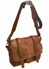 Aunts and Uncles designer Caramel Tan cross body leather bag . Beautiful leather