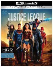 JUSICE LEAGUE 4K UHD + Blu-ray + Digital HD New & Sealed!! #JusticeLeague #SciFi