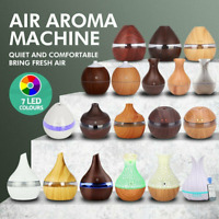 Intelligent LED Humidifier Essential Oil Diffuser Aroma Aromatherapy Purifier AU