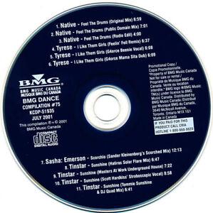 BMG Dance Compilation #75 CD Sasha / Emerson Scorchio (Sander Kleinenberg's Mix)