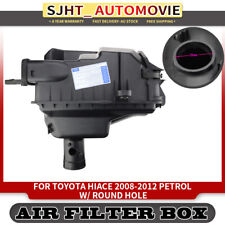 Air Filter Cleaner Box W/ Round Sensor Hole for Toyota Hiace 08-12 2.7L Petrol