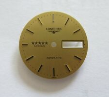 Longines 1980s ADMIRAL 5 STAR Automatic Gold Mens Wristwatch Dial New Old Stock