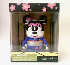 "DISNEY VINYLMATION 3"" CITY JAPAN I LOVE TOKYO GEISHA MINNIE MOUSE 2012 TOY NIB"