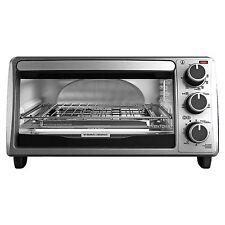 Black and Decker TO1303SB 4-Slice Toaster Oven, New, Free Shipping