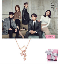 "STYLUS JEWELLRY  ""DOKEBI"" Korea Drama"" Kim GoEun's Necklace Pink Gold 14K"
