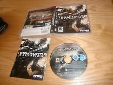 Terminator Salvación Sony PlayStation 3 PS3 Juego Completo con Manual