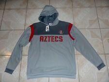 San Diego State Aztecs Sweatshirt Jacket Hoodie Large Sewn Logos New With Tags