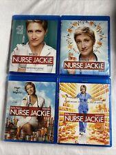 Nurse Jackie Seasons 1 2 3 4 1-4 Blu-ray Lot - Edie Falco