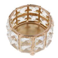 Crystal Bead Candle Holder Votive Tea Light Candelabra Dinner Table Decor #2