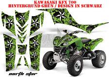 AMR RACING DEKOR GRAPHIC KIT ATV KAWASAKI KFX 450 & 700 NORTHSTAR B