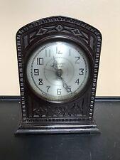 Vintage Electric Alarm Clock Made Of Bakelite
