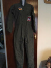 Mens AIRCREW ARMY AIR FORCE TOP GUN OVERALL's Fancy Dress Dance Party Wear