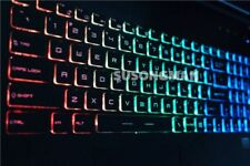 For MSI GT72 GS60 GS70 WS60 GE62 GE72 Keyboard Colorful backlit UK Crystal key