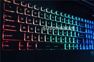For MSI GF72VR GF62 GF62VR GP63 GP73 Keyboard Colorful backlit UK Crystal key