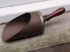 Antico vintage manico in legno stile vittoriano con Pala Scoop in Metallo