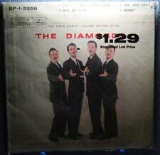 THE DIAMONDS: Til My Baby Comes Home (45) Sealed - Pic Sleeve - Doo Wop - 1957