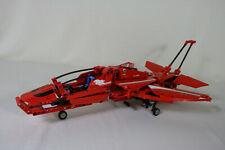 Lego Technic 9394 Düsenflugzeug Düsenjet Komplett mit neuen Stickern & OBA