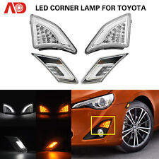 For Toyota GT86 Scion FR-S 13- LED Turn Signal Side Marker light Running Corner