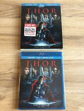 THOR Blu-Ray + DVD + Digital Copy (2011) ~*NEW SEALED*~ Hemsworth Portman RARE