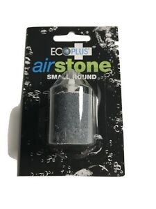 Eco plus Air Stone Small Round - aquarium cylinder, Aerated and Adds Oxygen, NEW