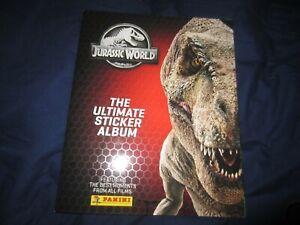 Jurassic World Ultimate Sticker Album  and stickers