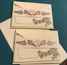 Elegant Florentine Paper Gift Cards With Envelopes Made In Italy (set Of 10)