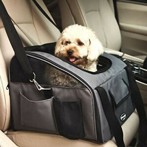 Pet Car Seat Mesh Carrier Travel Handbag Shoulder Bag For Small Dog Cat Kitten