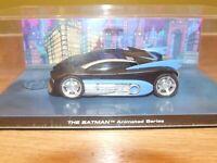 EAGLEMOSS BATMAN AUTOMOBILIA THE BATMAN ANIMATED SERIES BATMOBILE 1:43