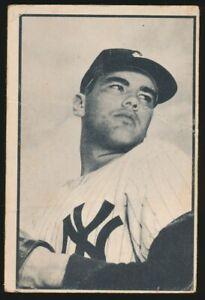 #61 TOM GORMAN 1953 Bowman Baseball Black White NEW YORK YANKEES