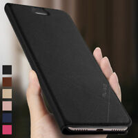 Luxury Business PU Leather Flip Wallet Cover Case For Xiaomi Redmi Note 3 4X 5A