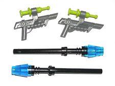 LEGO JURASSIC WORLD 75920 WEAPONS Minifigure Transquilizer Guns / Stun Rods