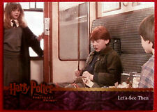 HARRY POTTER - SORCERER'S STONE - Card #036 - LET' SEE THEN - Artbox 2005