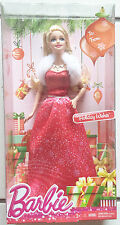 2014 Barbie Holiday Wishes Blonde Fashion Doll CCP45   New   3+