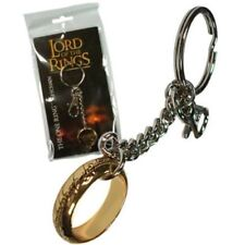 LORD OF THE RINGS MOVIE OFFICIAL LICENSED REPLICA HOBBIT THE ONE RING KEYCHAIN