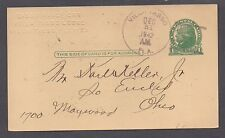 **US Florida Postal Stationery Cover, U165 Clearwater Harbor, FL 4/26 CDS DPO2