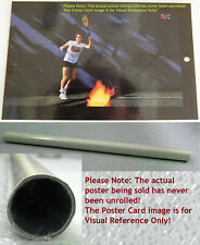 NITF! Vintage ☆ Old Stock ☆ NIKE Tennis Poster ☆ John McEnroe ☆ Mac II Fireball