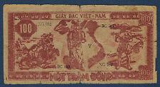 VIETNAM - 100 DONG Pick n° 163. de 1950/1951. en B   XG 052 V BC 163