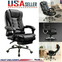 500 lb Heavy Duty High Back Big and Tall Desks Chair Executive Ergonomic leather