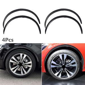 Rubber Wheel Eyebrow Arch Strip Car Lips Fender Flares Universal Trim Protector