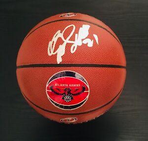 Dominique Wilkins Autographed Spalding NBA Atlanta Hawks Basketball/ JSA