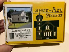 HO Scale Laser Art Structures by Branchline Finley House Kit #625